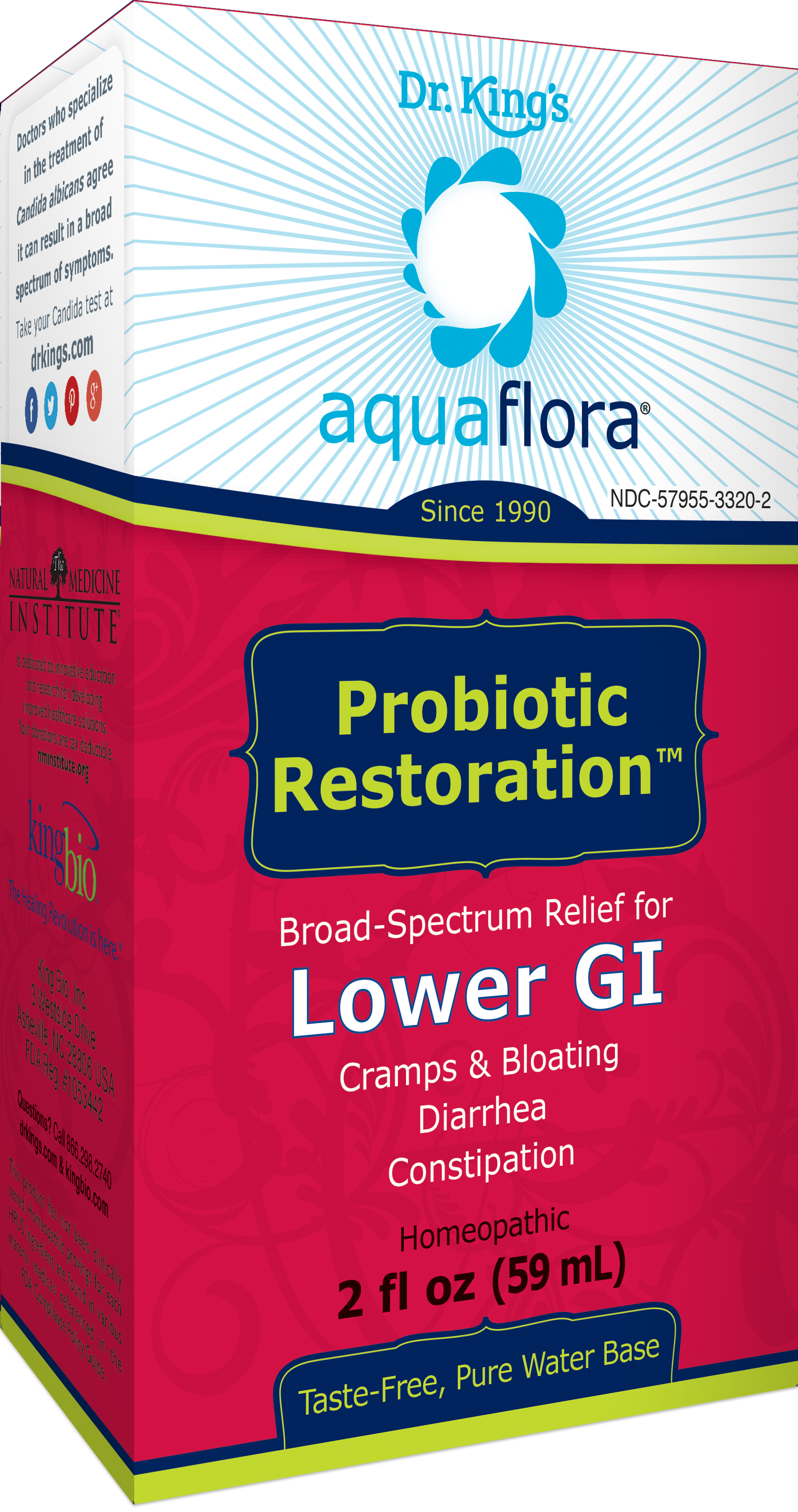 Probiotic Restoration - Dr. King's