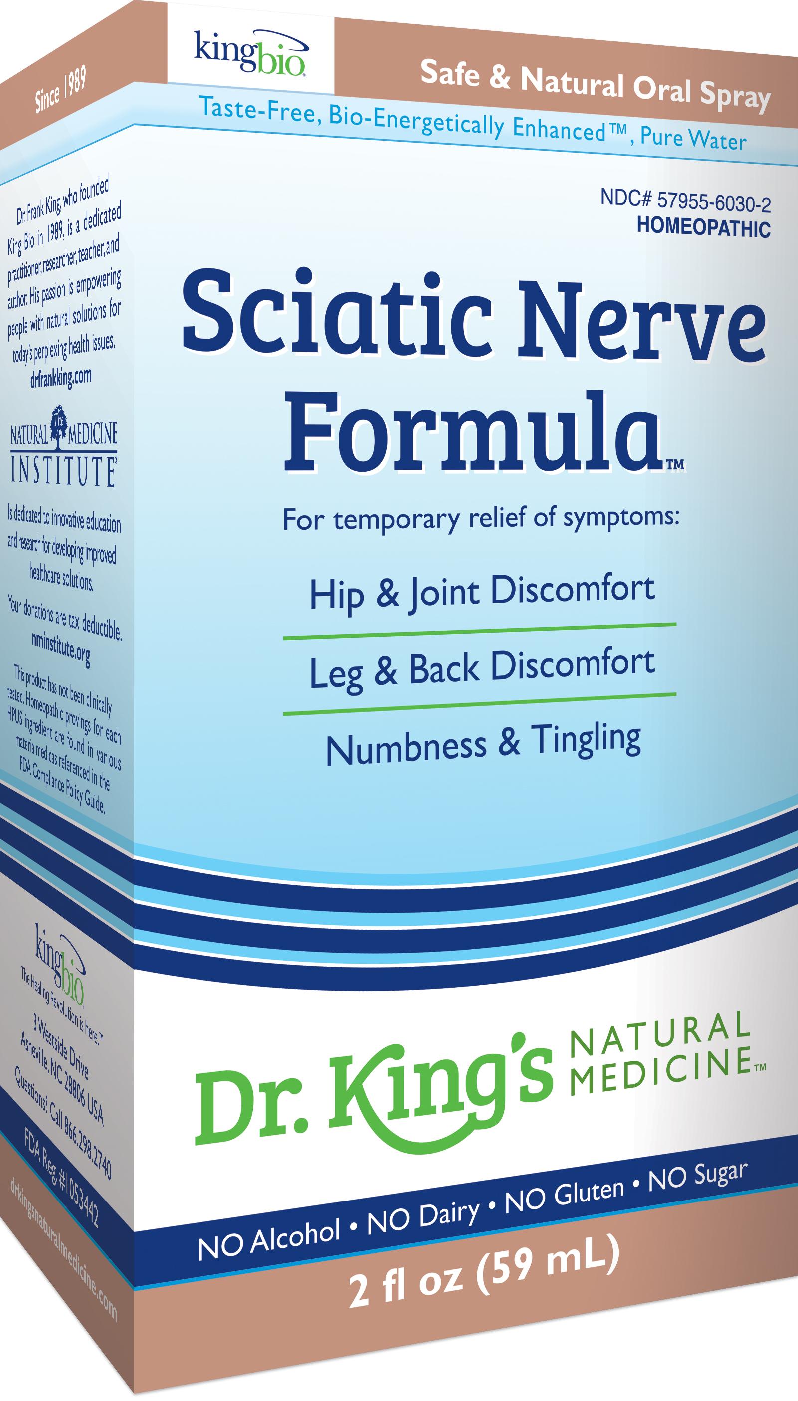 Sciatic Nerve Formula Dr King S