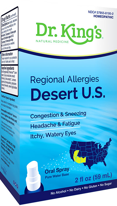 Regional Allergies - Desert US