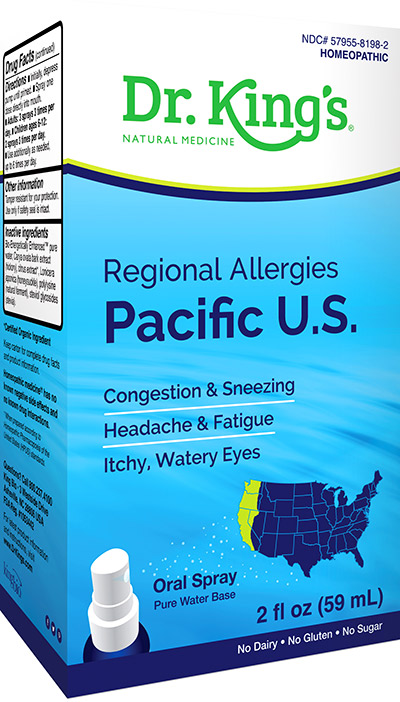 Regional Allergies - Pacific US