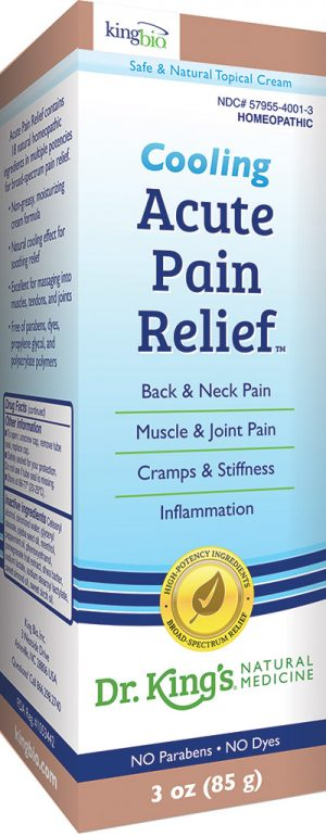 Acute Pain Relief