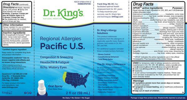 label-for-regional-allergies-pacific-u-s