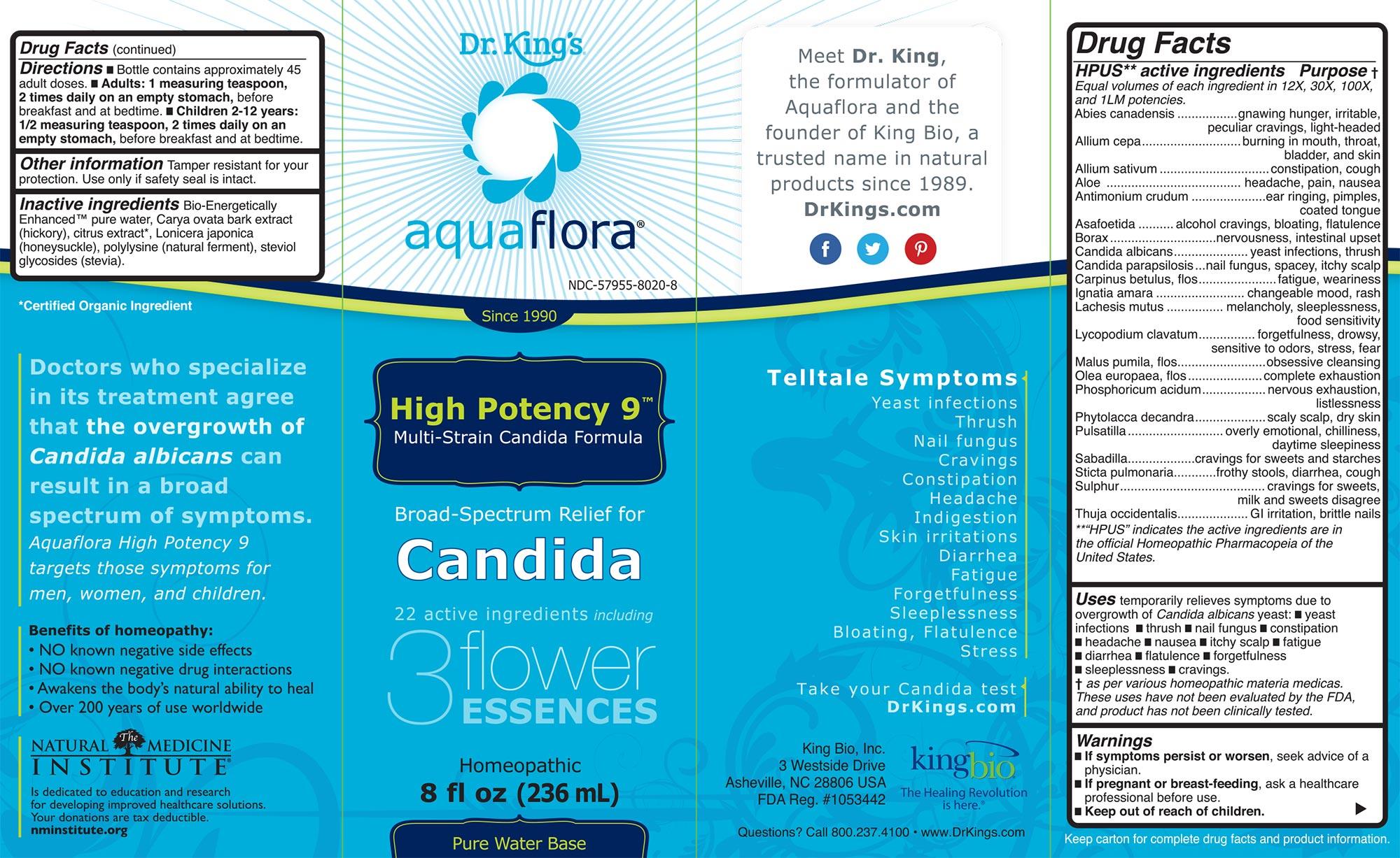 High Potency 9 Dr King S