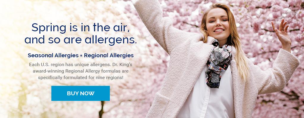 Spring Regional Allergies