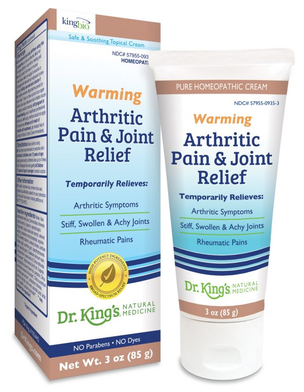 Arthritic Pain and Joint Relief