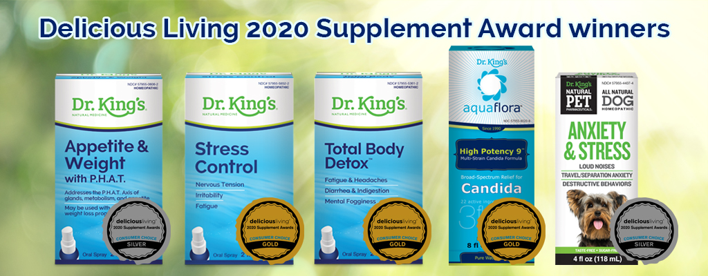 Delicious Living 2020 Supplement Award Winners