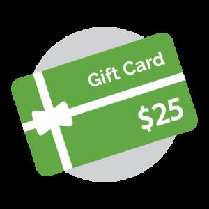 Gift Card - 25 Dollars