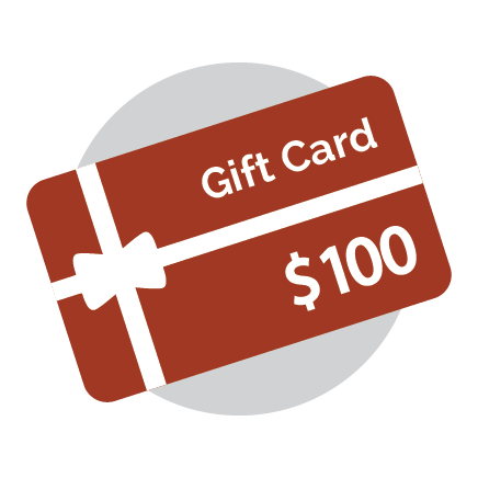 Gift Card - 100 Dollars