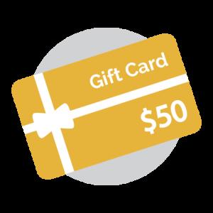 Gift Card - 50 Dollars