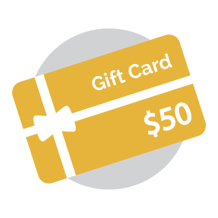 Gift Card - 50 Dollars