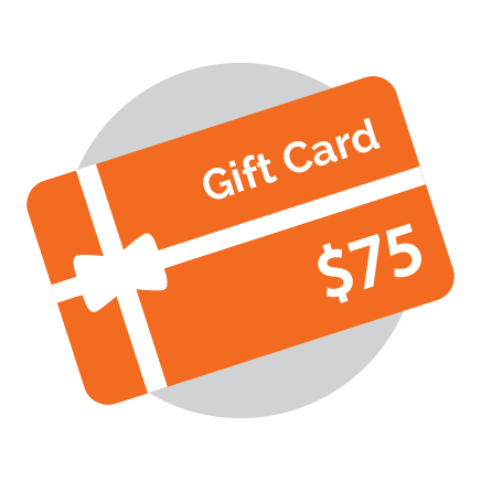 Gift Card - 75 Dollars