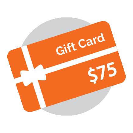 Gift Card - 75 Dollars