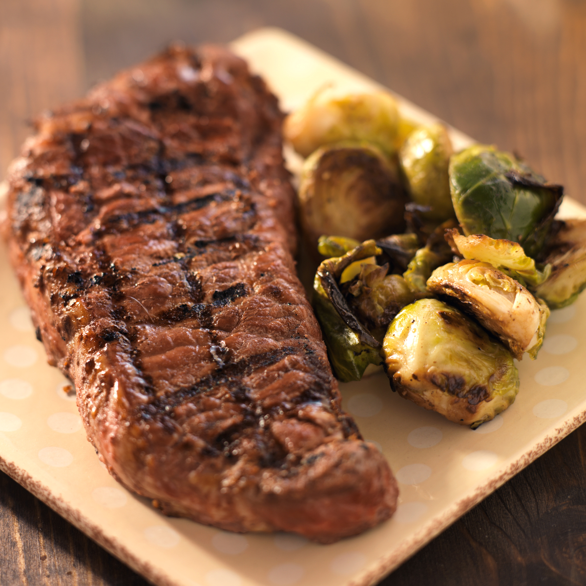"All-Natural, ""Never-Ever"" Angus NY Strip Steak (10 oz.)"