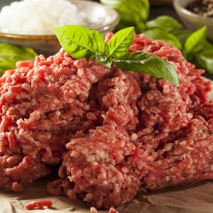 Organic Grass-Fed Ground Beef (1 lb.)
