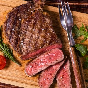 Organic Grass-Fed Rib Eye (8 oz.)